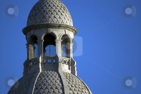 Trinity College Dublin stock photo, Stone buildings in Trinity College Dublin with Blue sky by Simon Jeacle