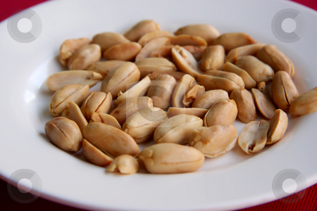 Roast peanuts stock photo, Roast peanuts served as appetizer in chinese restaurant by Kheng Guan Toh