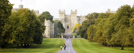 Windsor castle stock photo, Windsors castle's entrance (England) by Lee Torrens