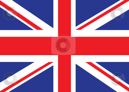 British flag stock vector clipart, Illustrated version of the british flag ideal for a background by Michael Travers