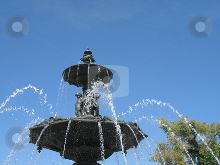 Fountain stock photo, Fountain by Mbudley Mbudley