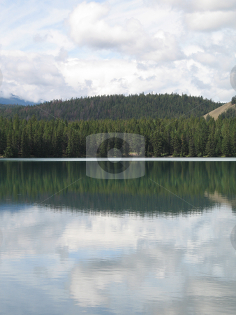 Calm lake stock photo,  by Mbudley Mbudley
