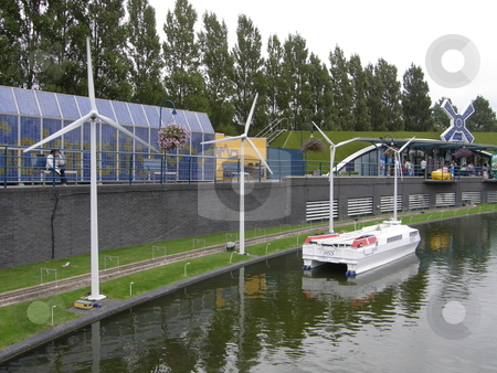 Madurodam in Netherlands stock photo, Madurodam (Miniature City) at the Hague in Netherlands by Ritu Jethani