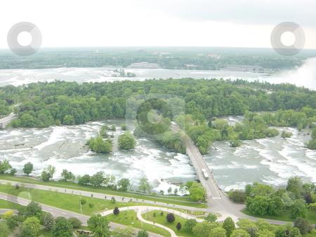 Niagara Falls - border of USA  stock photo,  by Ritu Jethani