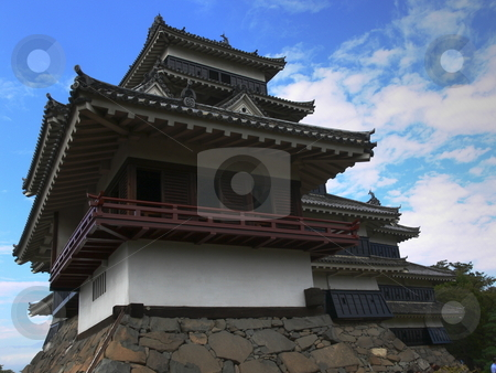 Castle stock photo, Matsumoto Castle, Nagano Prefecture, Japan by Martin Darley