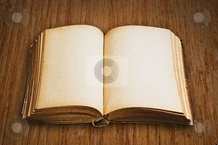 Vintage book isolated, clipping path excludes the shadow. stock photo, Vintage book isolated, clipping path excludes the shadow. by Pablo Caridad
