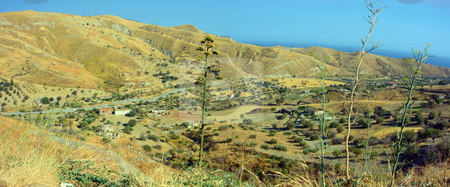 Calabria landscape stock photo, Typical landscape of hot Calabria on the south of Italy by Natalia Macheda