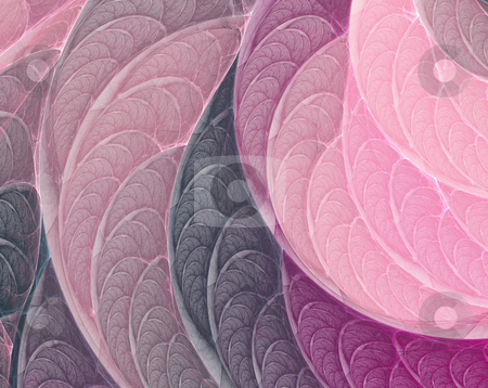 Pink-purple fractal background stock photo, Fantasy pink-purple fractal background generated in apophysis by Natalia Macheda