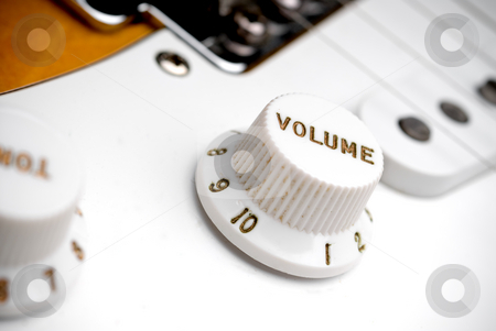 Volume tuner stock photo,  by Vince Clements