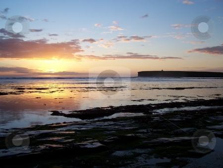 Birsay at sunset