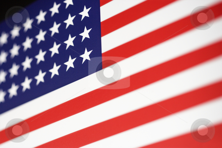 American flag. stock photo, American flag. by Iofoto Images
