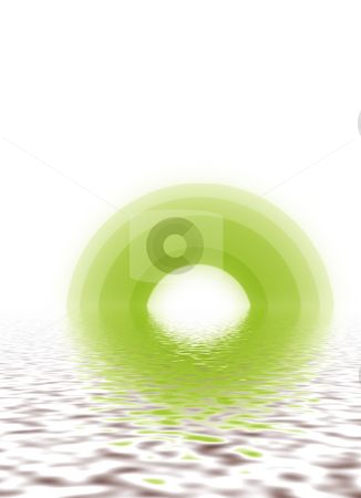 Colourful pond with water ripples stock photo, Background paper  wave water ripple wall paper web page by Andrew Chambers