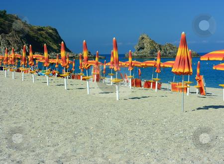 Palmi beach stock photo, Rock in the sea in Palmi, Calabria by Natalia Macheda