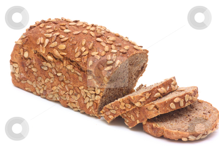 Loafs of black bread stock photo, Loafs of black bread with sunflower seeds of Alto-Adige, Northern Italy by Natalia Macheda
