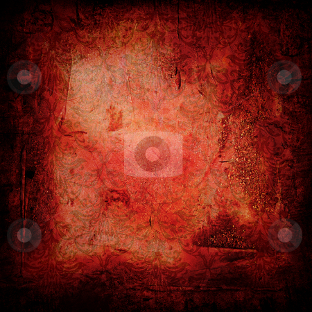 Gothic grunge red stock photo, Grunge background with room to add your own copy by Michael Travers