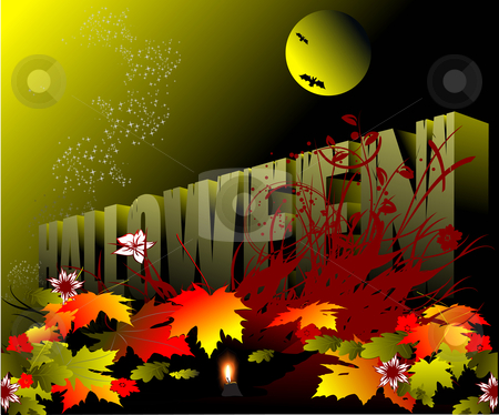 Halloween stock vector clipart, Halloween - Holiday celebrated on the night of October 31 by Leonid Dorfman