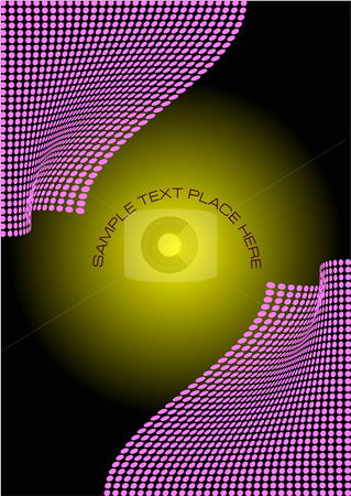 Abstract composition stock vector clipart, Abstract composition dots background by Leonid Dorfman