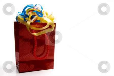 Christmas Present stock photo, A seasonal present given during the Christmas season. by Robert Byron