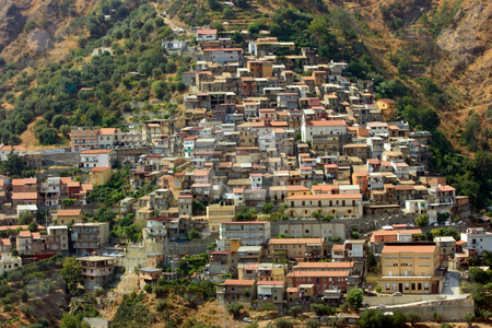 Cardeto stock photo, Typical village in Aspromonte of Calabria in Southern Italy by Natalia Macheda
