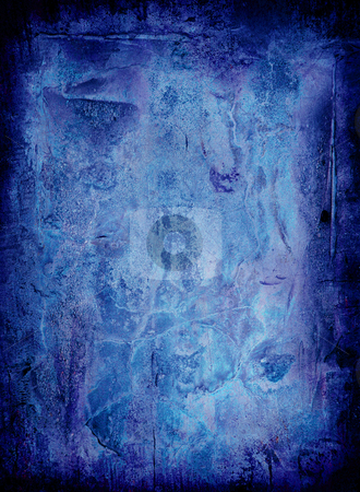 Ice grunge stock photo, Ice grunge background with room to add your own copy by Michael Travers