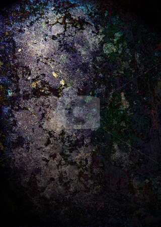 Grunge rock light stock photo, Abstract mottled background ideal to place text over by Michael Travers