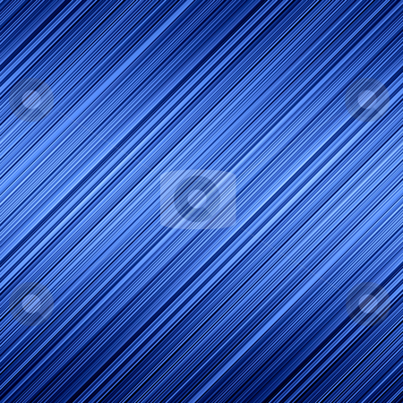 Blue chrome color effect diagonal lines abstract background. stock photo, Blue chrome color effect diagonal lines abstract background. by Stephen Rees