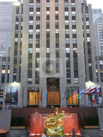 Rockefeller Plaza in New York City stock photo,  by Ritu Jethani