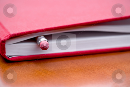 Book with pencil inside stock photo, Book with pencil inside by Vince Clements