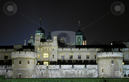 Tower Of London stock photo, The tower of london at night time by Kobby Dagan