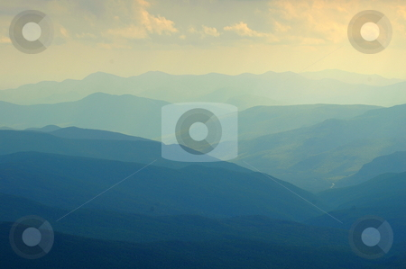 Mountain Range stock photo,  by Richard Sheehan