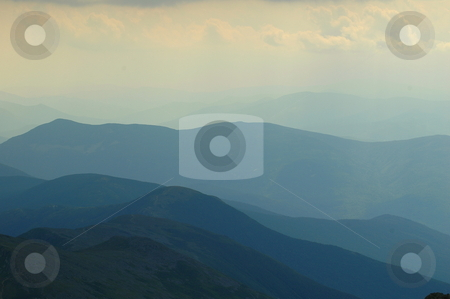 Mountain Range stock photo,  by Richard Sheehan