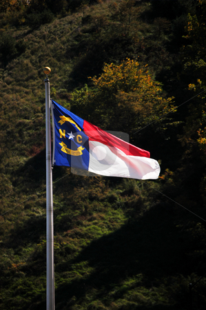 State flag stock photo,  by Tim Markley