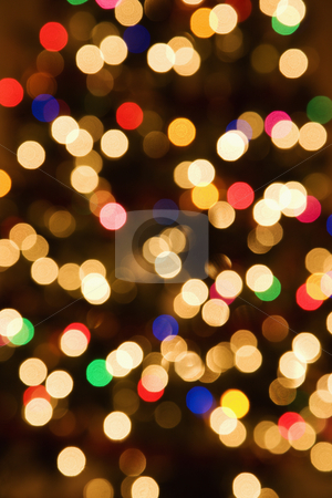 Abstract blurred lights. stock photo, Abstract blurred multicolored lights. by Iofoto Images