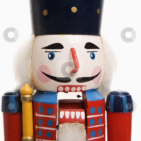 Toy soldier. stock photo, Still life of Christmas toy soldier. by Iofoto Images
