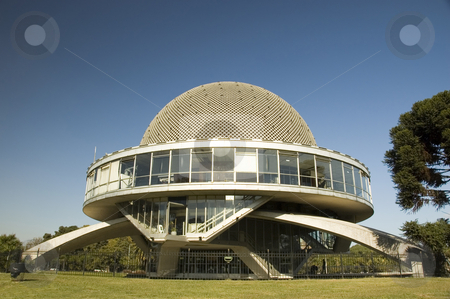 Galileo Galilei planetarium in Buenos Aires stock photo, The sphere architecture of the Galileo Galilei planetarium in Buenos Aires, Argentina by Lee Torrens