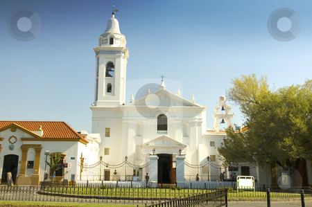Recoleta Church, Buenos Aires stock photo, The prominent church in Buenos Aires, Argentina, titled Nuestra Se?ora del Pilar by Lee Torrens