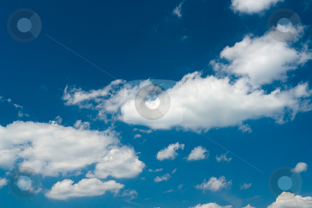 Wolken am Himmel - Clouds in the sky stock photo, Wolken am Himmel - Clouds in the sky by Wolfgang Heidasch