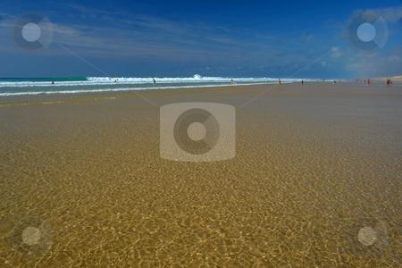 Der Atlantikstrand stock photo, Der Atlantikstrand by Wolfgang Heidasch