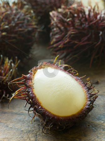 Rambutan Fruit stock photo, Close up of Rambutan Fruit by Monkey Business Images