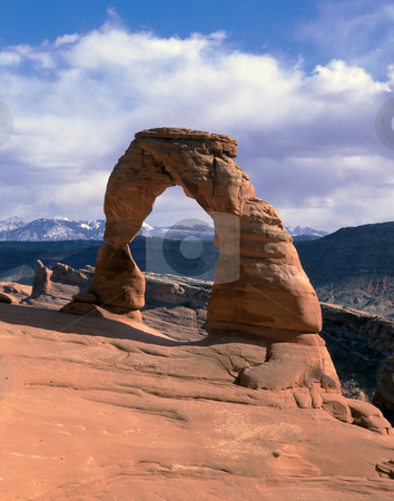 Arches national park stock photo, Panoramic view on Arches national park in Utah by Seregey Korotkov