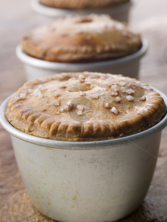 Black Truffled Pork and Pistachio Pies stock photo,  by Monkey Business Images