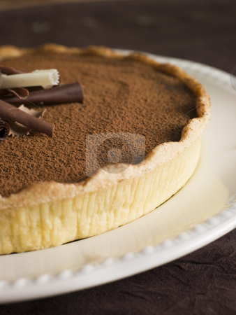 Tarte au Chocolat stock photo,  by Monkey Business Images