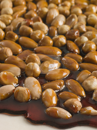 Pralines in Honey stock photo,  by Monkey Business Images