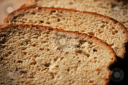 Wheat bread stock photo, Wheat bread shown up close by Tim Markley
