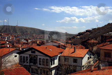 Beypazary stock photo, The Turkish town of Beypazary in Anatolia region by Kobby Dagan