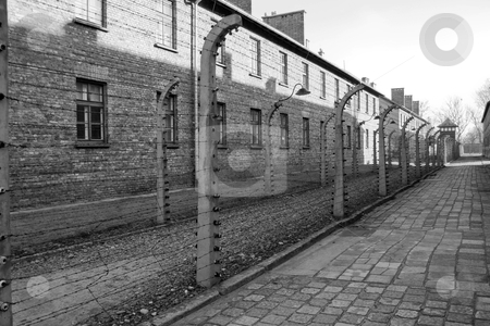Concentration camp in Poland stock photo, The concentration camp of Birkenau near Cracow in Poland by Rafael Franceschini