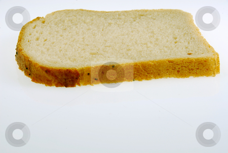 Bread stock photo, Slices of bread isolated on white background by Joanna Szycik