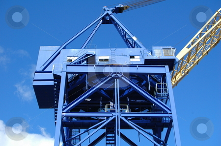 Shipyard Crane stock photo,  by Richard Sheehan