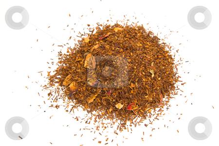 Rooibos, Rooibosch, Rotbusch Tee (Aspalathus linearis) - Red Tea stock photo, Rooibos (Aspalathus linearis) ist eine Pflanzenart aus S?dafrika, die zu den H?lsenfr?chtlern (Fabaceae) geh?rt. - Rooibos, (pronounced like