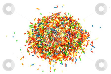 Kuchenstreusel - Baking colour stock photo, Zur Verzierung von Kuchen und Kleingeb?ck - Used to color cookies by Wolfgang Heidasch